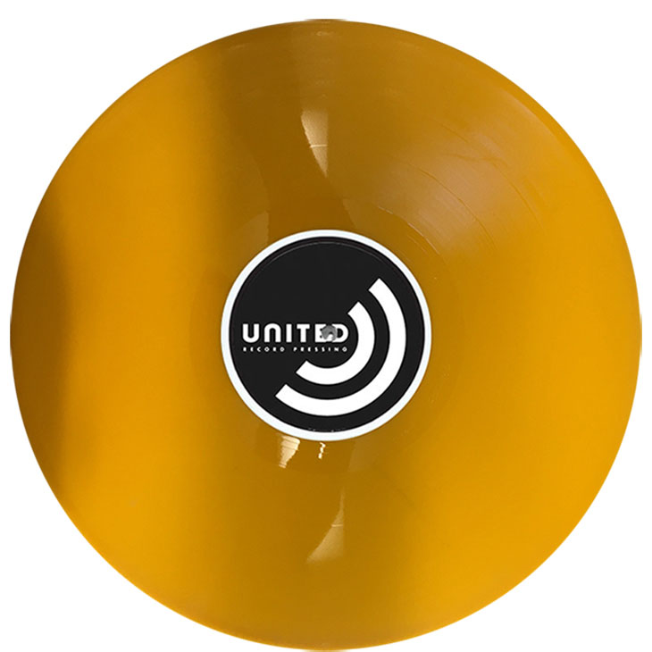 Colored Vinyl United Record Pressing